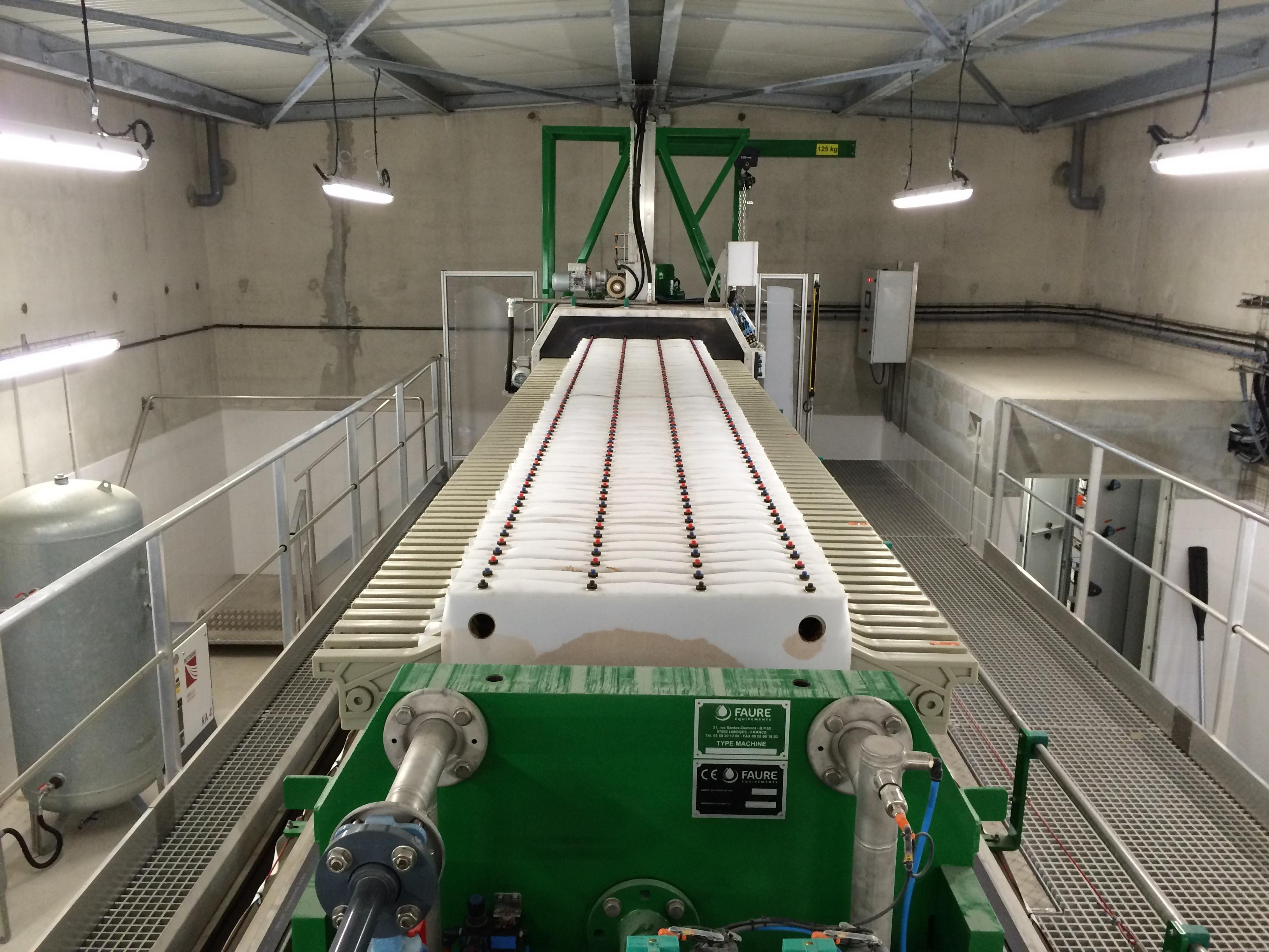 The Full Automatic Filter Press Faure Equipements En